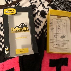 OtterBox Accessories - iPhone X otter box defender case